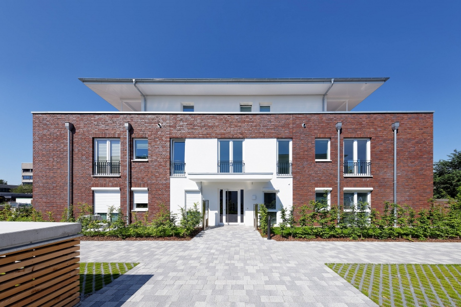 mehrfamilienhaus wohnpark heide erster bauabschnitt. Black Bedroom Furniture Sets. Home Design Ideas